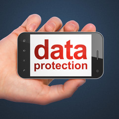 Safety concept: Data Protection on smartphone
