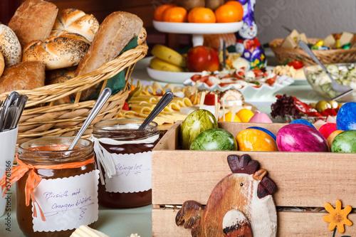 In de dag Buffet, Bar Foodstuff Easter / Ostermenü