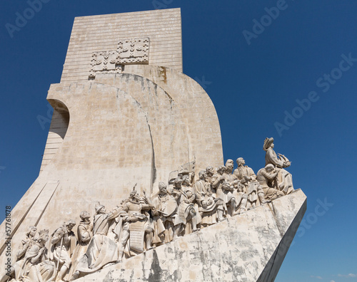 Monument to Discoveries Belem Lisbon