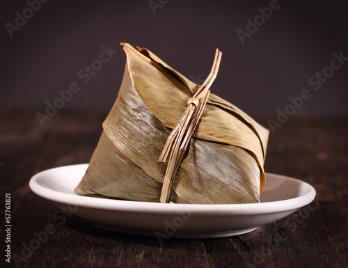 Chinese rice dumpling © dolphfyn