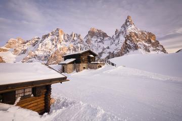 Baita Segantini e Pale di San Martino, Dolomiti
