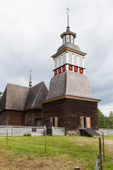 Wooden chruch in petajavesi Unesco world heritage site