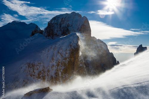 Bufera di Neve, Pale di San Martino, Dolomiti © Pixelshop