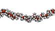 Silicone oil (Polydimethylsiloxane, PDMS) silicone polymer