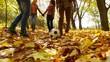Football On Leaves