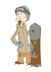 SnowBoarder_Man