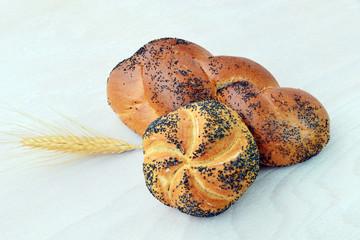 Poppy seed roll - bread