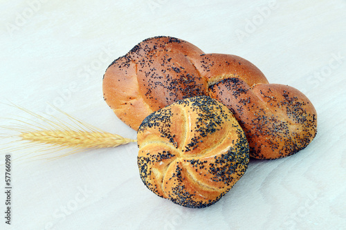 Poppy seed roll - bread