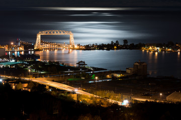 Duluth Minnesota Night Time