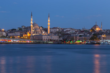 The cityscape of Istanbul , Turkey
