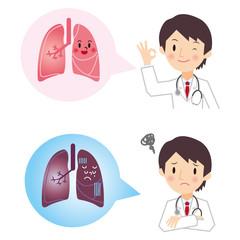診断結果 肺