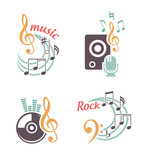 Music vector elements
