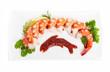 Tiger shrimp platter