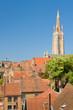 Sunny summer day in Bruges