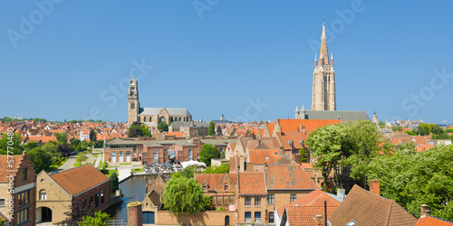 Panorama of Bruges