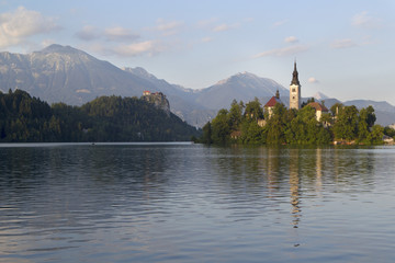 Castle Bled and Bled Island, Slovenia