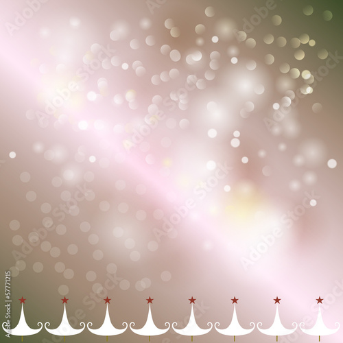 New year abstract bokeh background vector