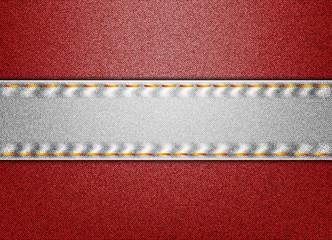Denim Austria flag