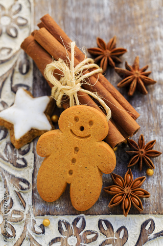 Christmas Spices, Gingerbread man, cookies