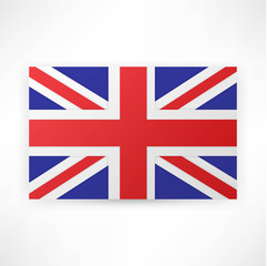 flag london background.