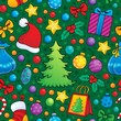 Christmas seamless background 2