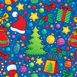 Christmas seamless background 3