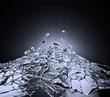 Leinwandbild Motiv Shuttered glass