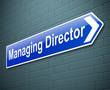 Managing Director concept.
