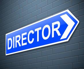 Director concept.