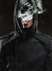 guy lets smoke