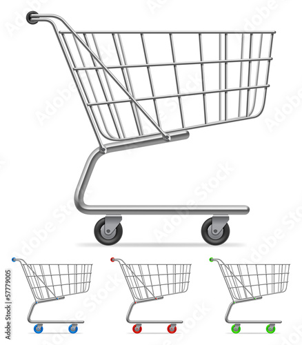 Shopping cart.