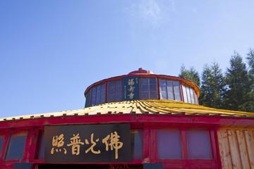 temple architecture landscape