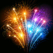 Colorful fireworks - 57779638