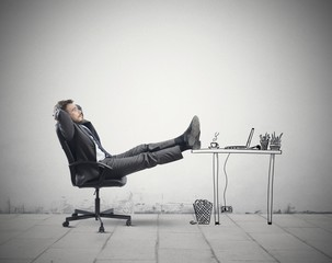 Relax in office
