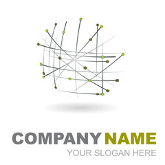 logo design 3d company name #3
