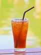Ice lemon tea