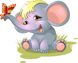 Fototapety elephant