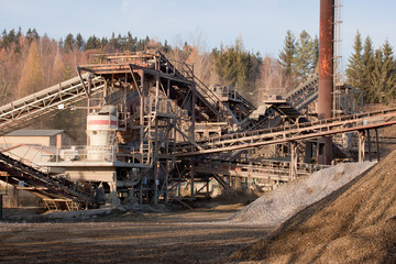 Gravel production