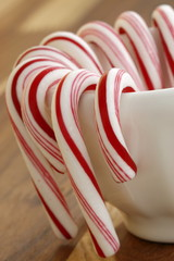 Sweet candy canes