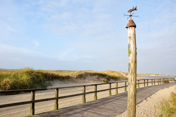 St. Peter Ording - Weg zum Strand