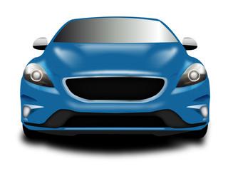 Auto Sportiva metallizzata blu