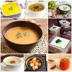 Assortment of soups recipes