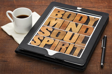 mind, body, soul and spirit