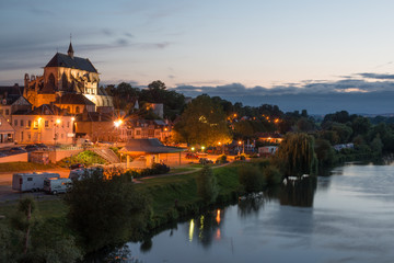 Pont de l'Arche, beautiful Normandy town on the bank of Seine