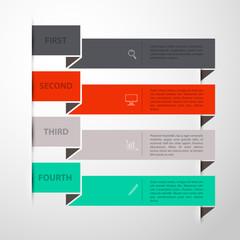 Design template back