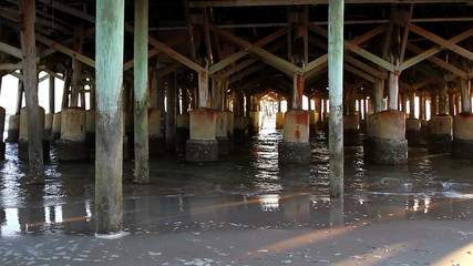 Daytona Beach Florida under the Pier