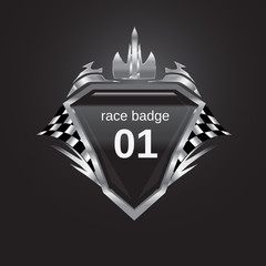 race badge