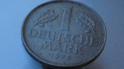 old german coin spin