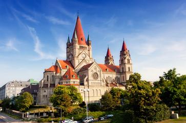 Austria, Vienna, Church Franziska Assizskogo