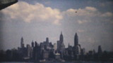 New York Skyline From Tour Boat-1940 Vintage 8mm film